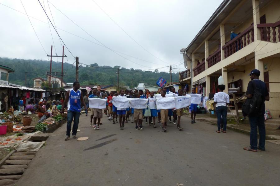 Aktivitäten durch freiwillige Helfer in 2014