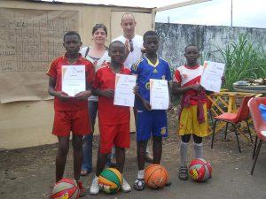 Basketball for Development Fairplay-Award