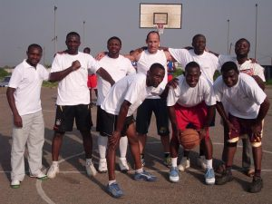 Basketball for Development Support Team